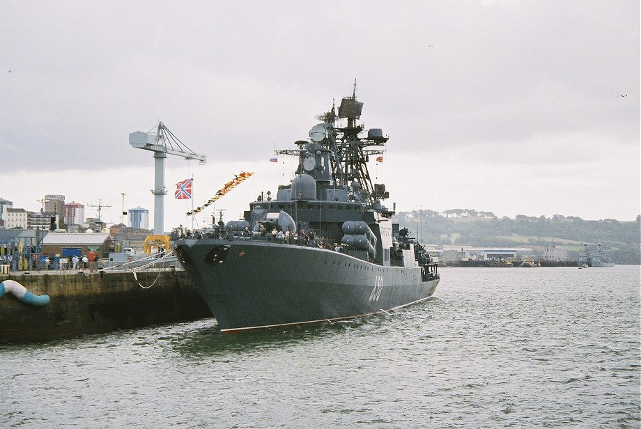 Udaloy II class Admiral Chabanenko at Devonport Navy Days 2006.