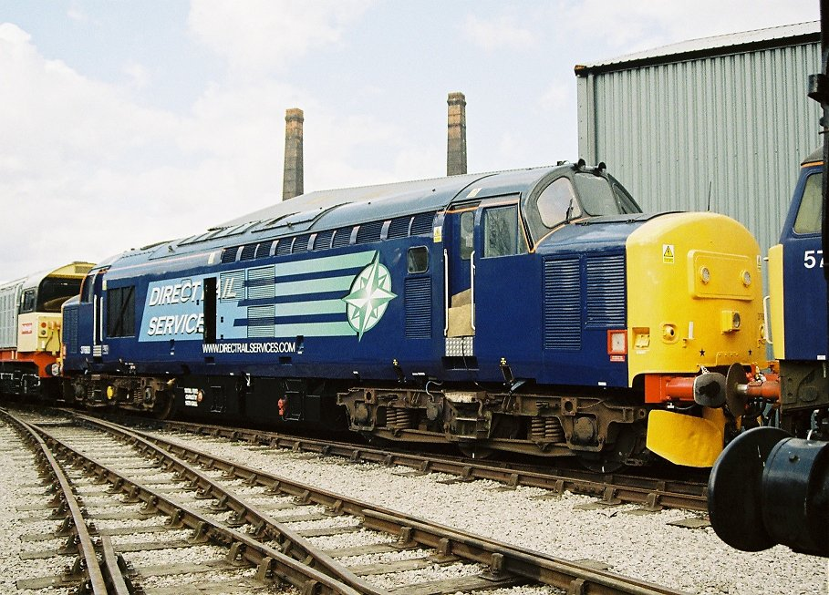 37683 fresh in Direct Rail Services livery.
