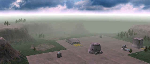 Starbase 77 during it's early stages of operation.