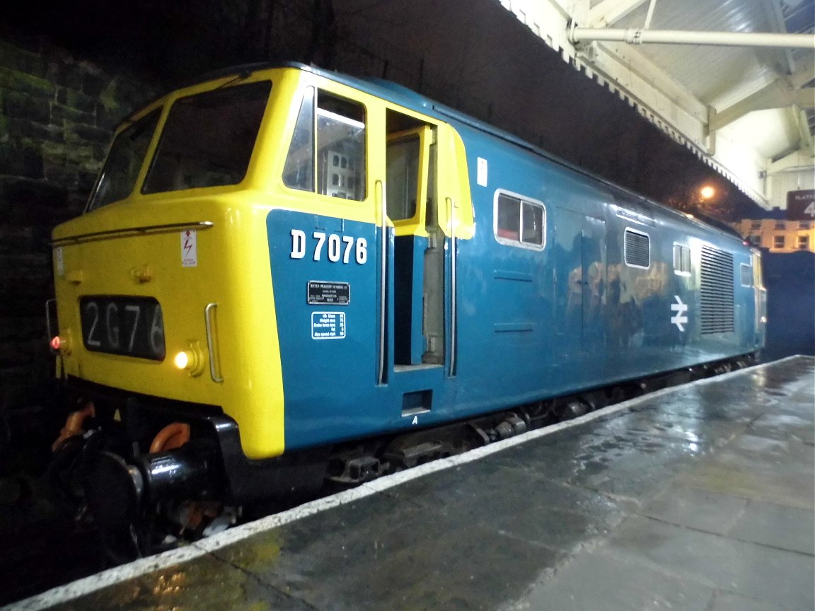 46009 'Operation Smash Hit' display, Sat 28/12/2013.
