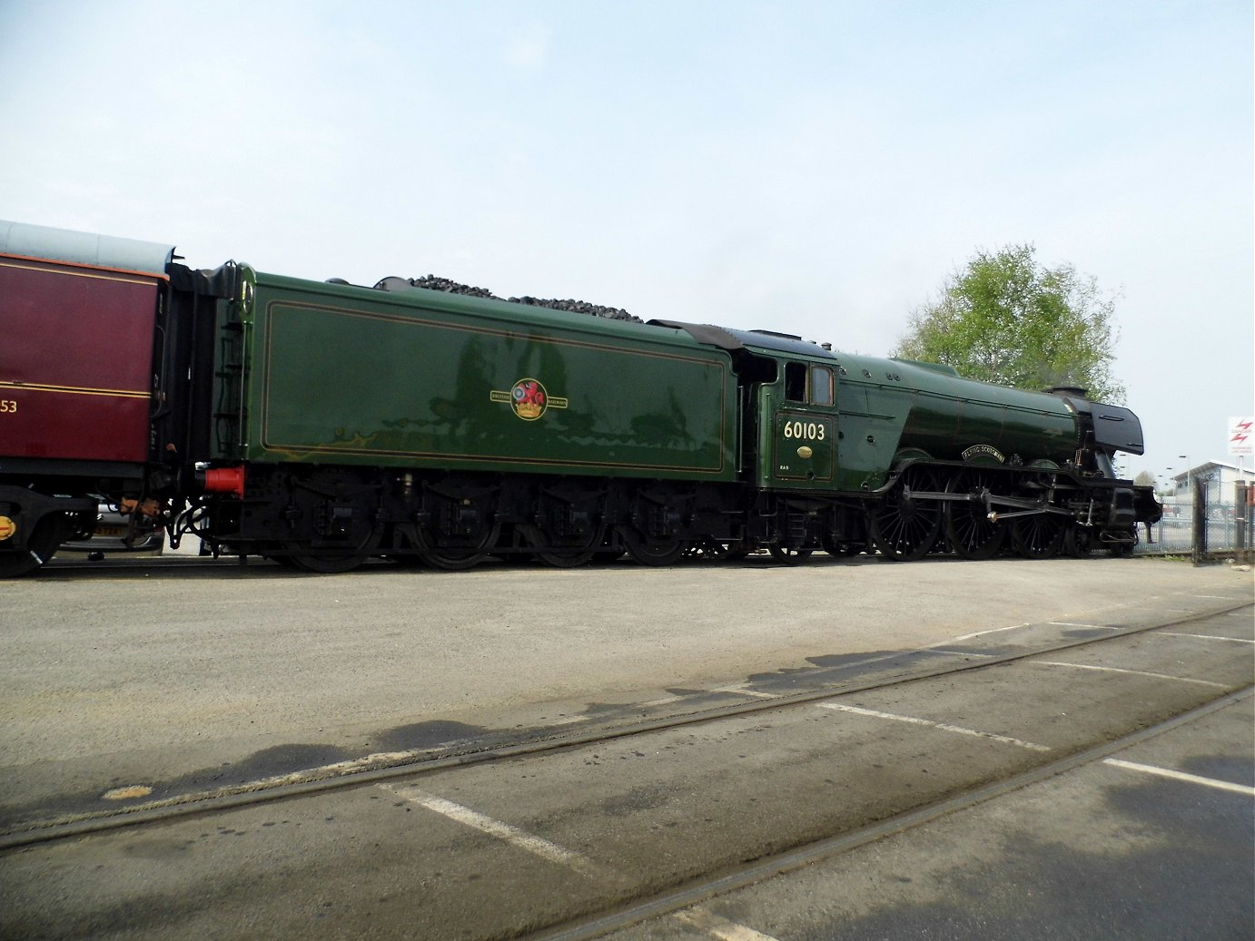 103 Flying Scotsman, Sat 28/12/2013.