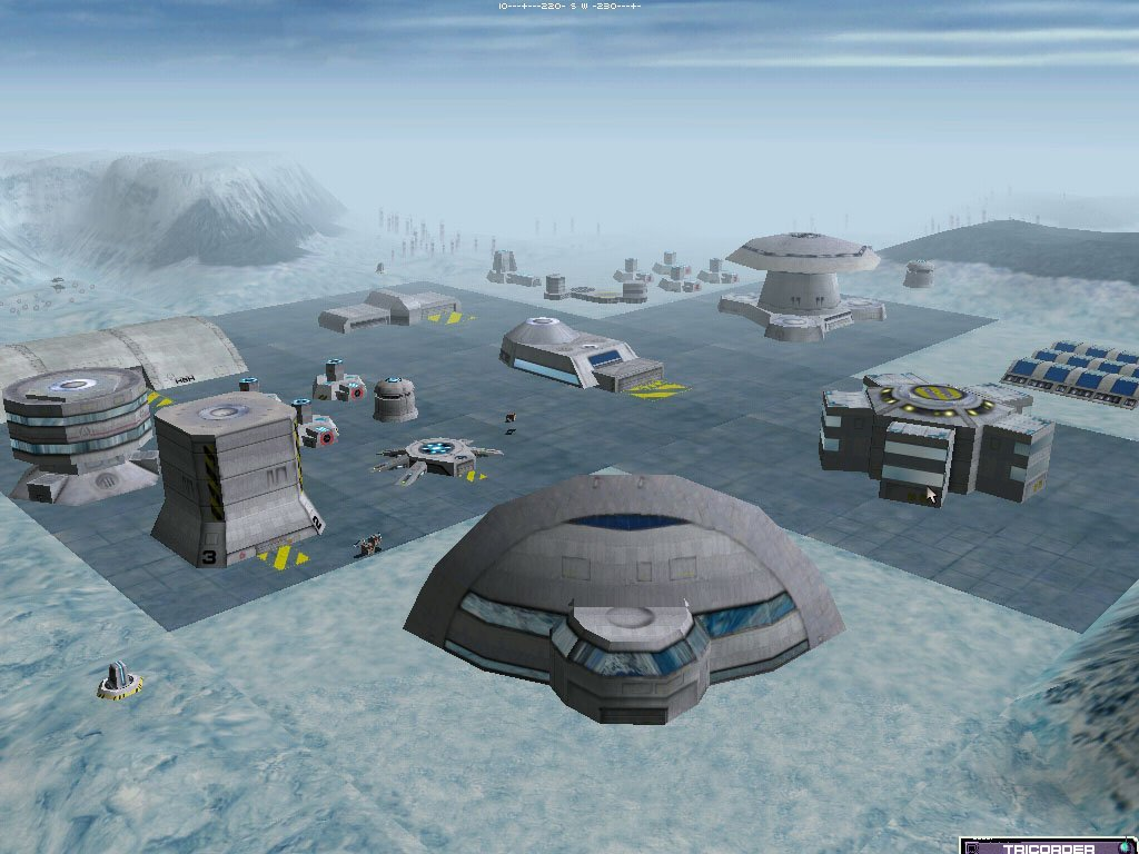 Federation colony on artic planet with stage 3 hub.