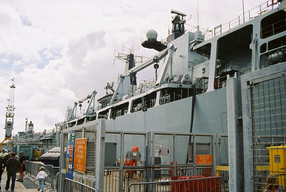 Assault ship L14 H.M.S. Albion at Plymouth Navy Days 2006