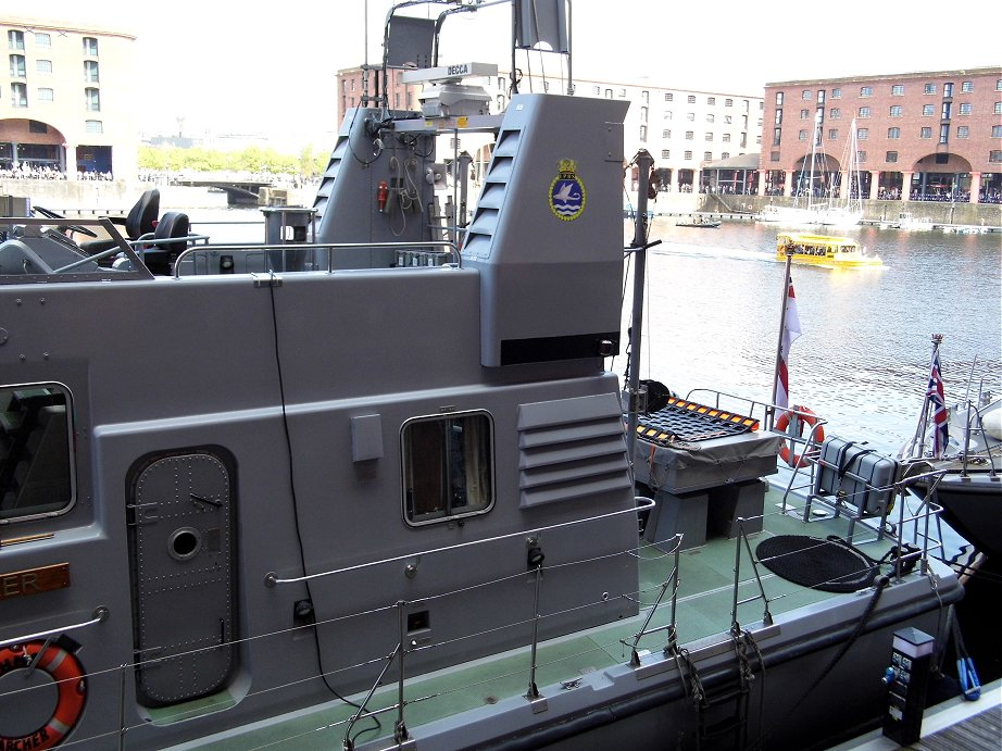 Explorer class coastal training patrol craft H.M.S. Archer at Liverpool Alberts Docks, May 26th 2013