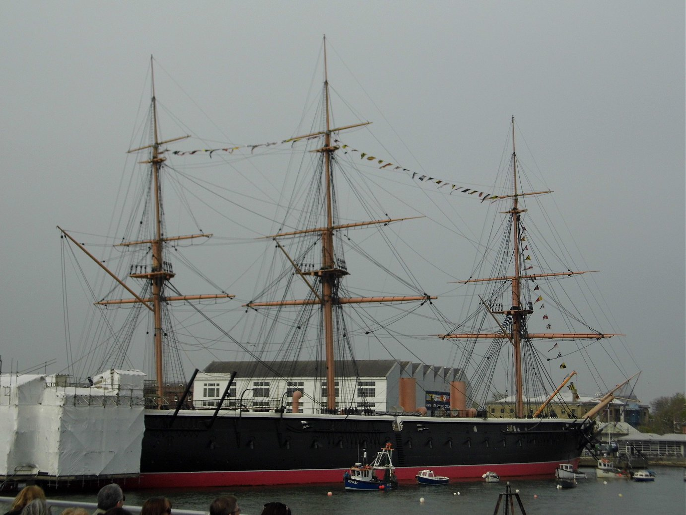 HMS warrior, Portsmouth, Tuesday 23/04/2019.