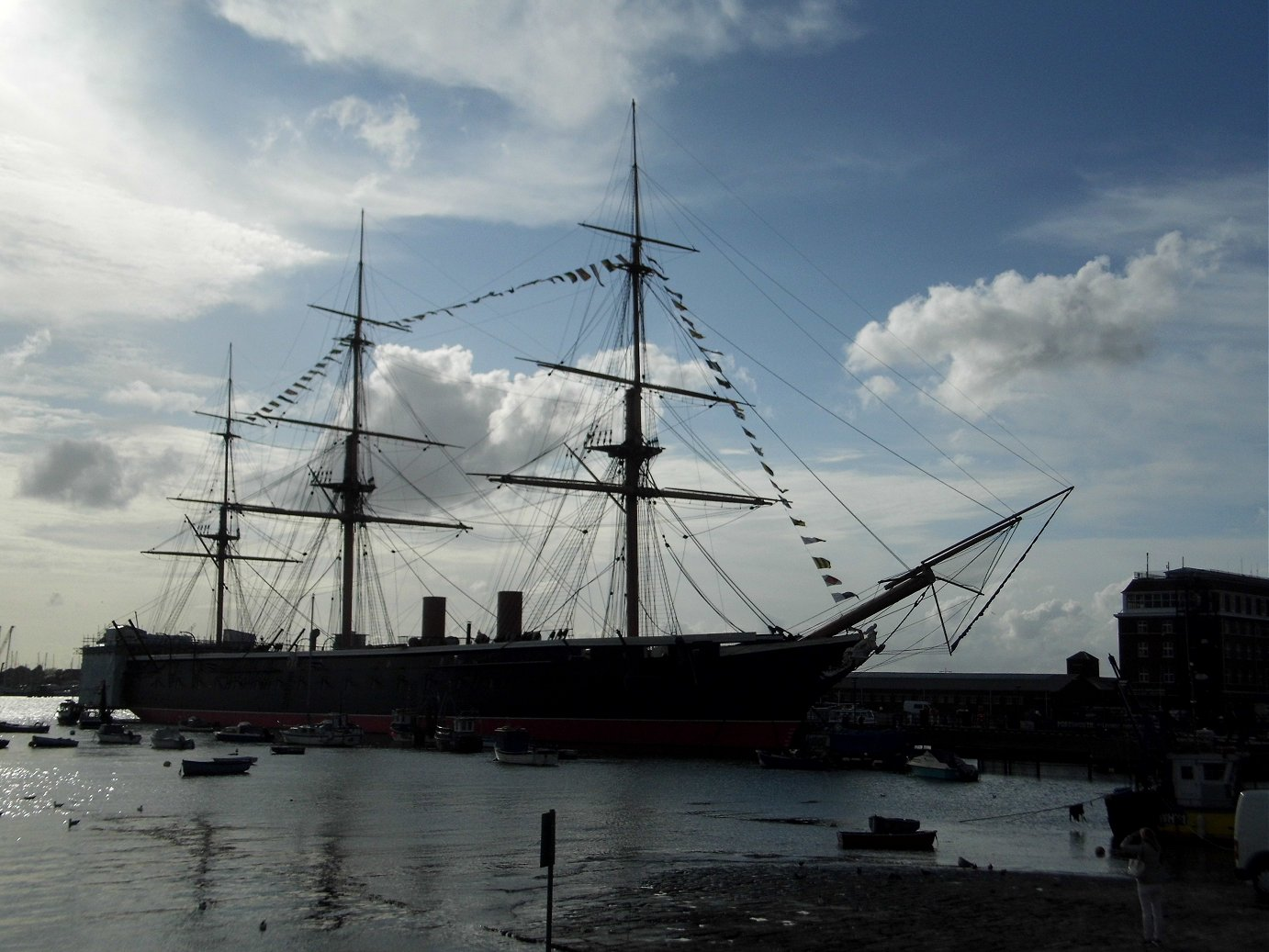 HMS warrior, Portsmouth, Tuesday 23/04/2019..