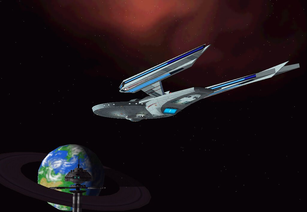 U.S.S. Interceptor at Starbase 52