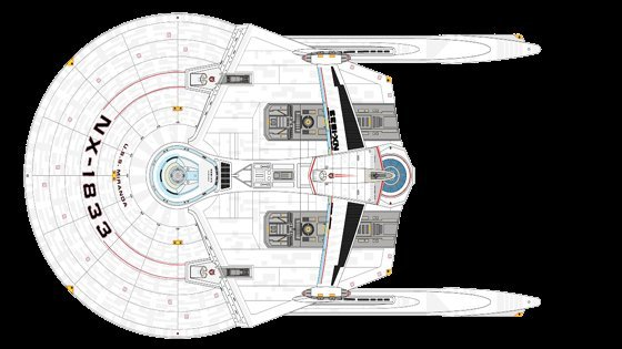 Strategic Design USS Miranda copyright Quantum Reality Inc.