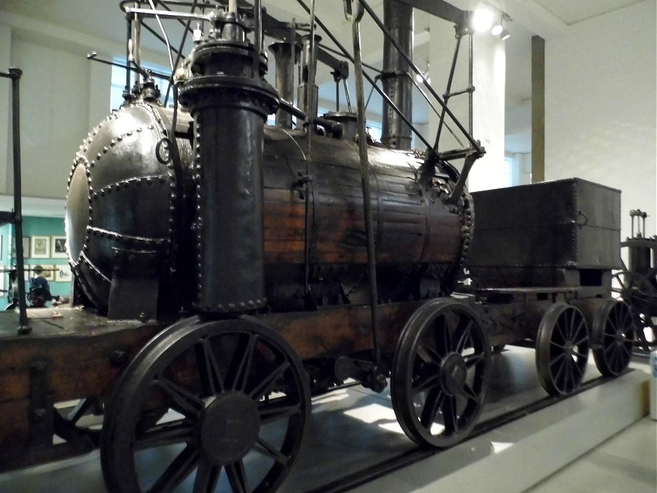Puffing Billy at the Science Museum, Wed 18/02/2015.