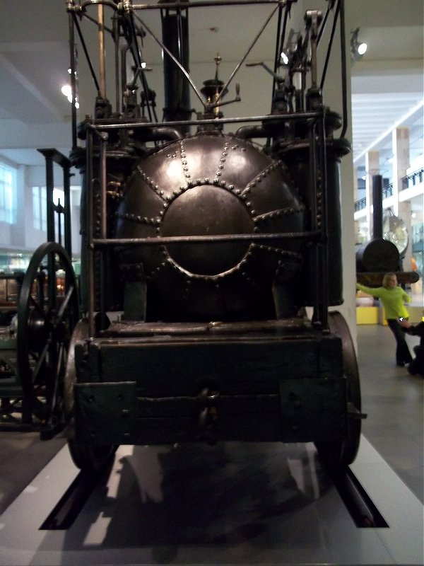 Puffing Billy at the Science Museum, Sun 11/11/2012.
