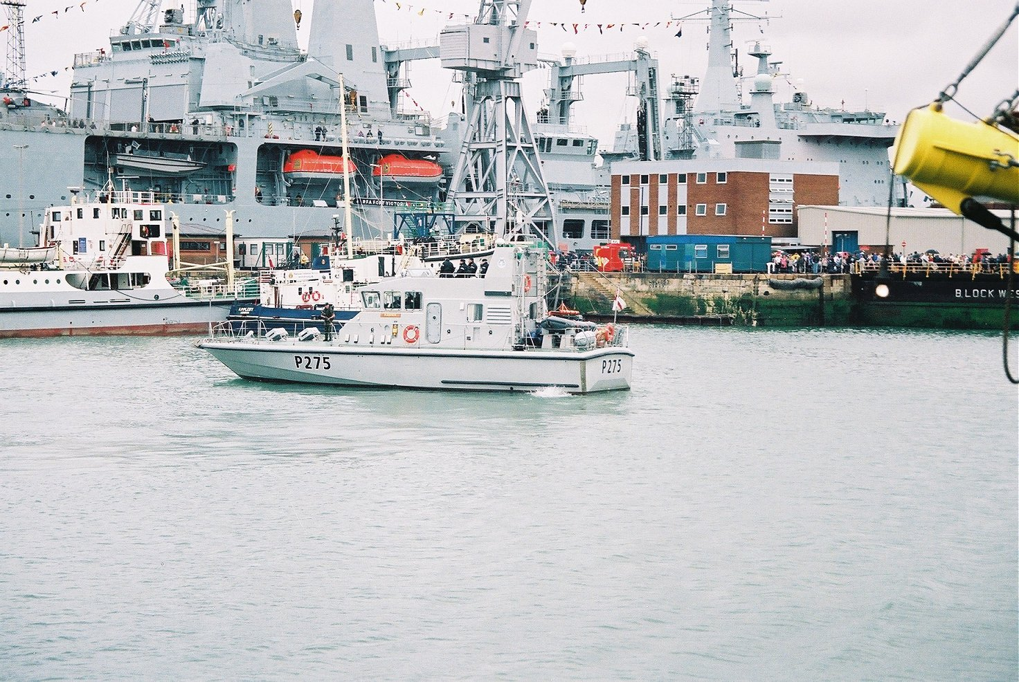 A387 RFA Fort Victoria at Portsmouth Navy Days 2005.
