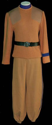 Security Operations uniform as seen in Star Trek V. Click on image for link to startrekpropcollector.com