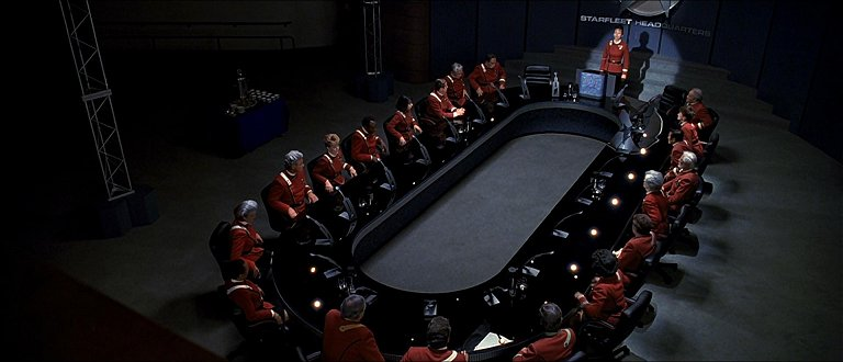 Starfleet Command main briefing room