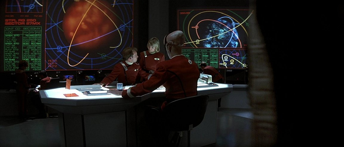 Starfleet Command - Command and Control Centre.