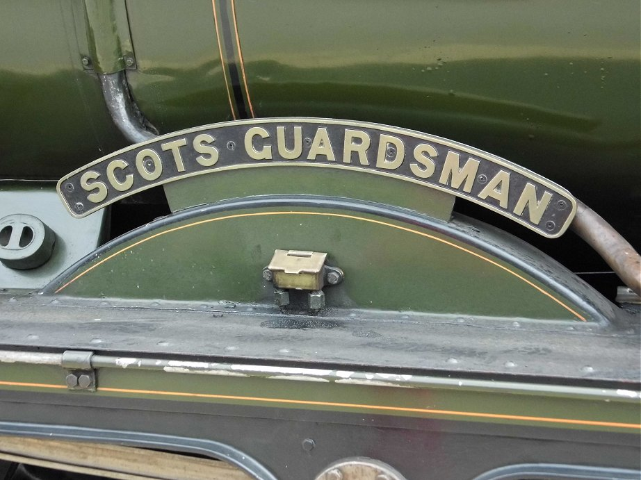 46115 Scots Guardsman on the Scarborough Spa Express, Wed 31/7/2013.