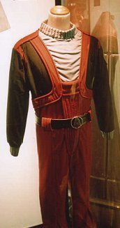Old Special services uniform from Star Trek III-era seen at Hyde Park London Star Trek Exhibition 2002.