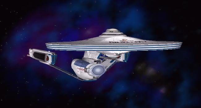 U.S.S. Sovereign NCC 2505, derivative of U.S.S. Decatur. CGI by Andrew Brown